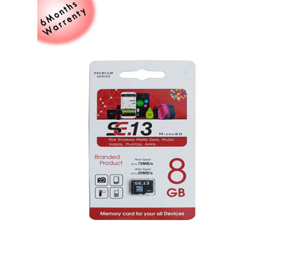 EKAM SE13 8GB Memory Card