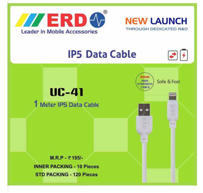 EKAM ERD UC41 IP5 Data Cable