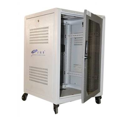 EMS 22U X 600W X 600D Floor Standing Rack (White)