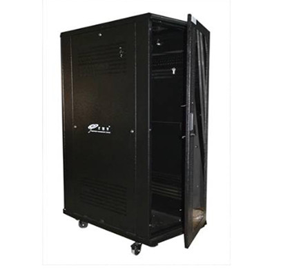 EMS 22U X 600W X 800D Floor Standing Rack (Black)