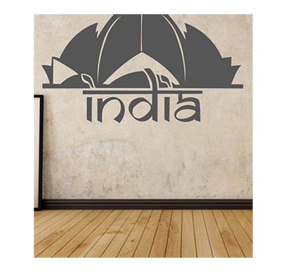 enormous kart on wall india sticker - medium