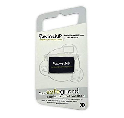 Enviro Chip Radiation Protection Chip for WiFi Router (Black)