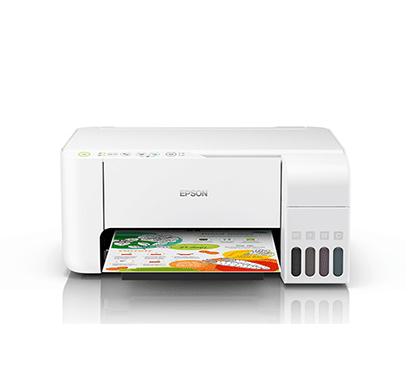 Epson EcoTank L3156 Wi-Fi Multifunction InkTank Printer ( White)