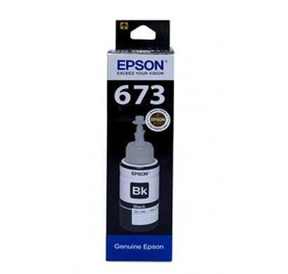 epson t6731 black 70ml ink bottle