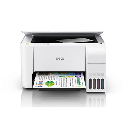 Epson EcoTank L3116 MultiFunction Inktank Printer (White)