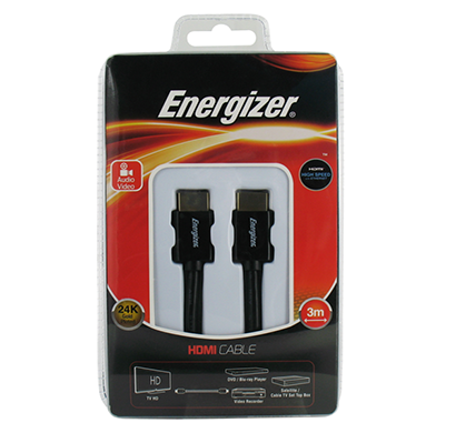 energizer hdmi cable classic 3.0 m
