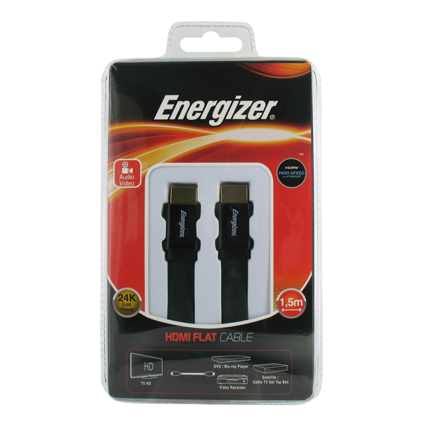 Energizer Ultra flat HDMI Classic Cable 3.0 m