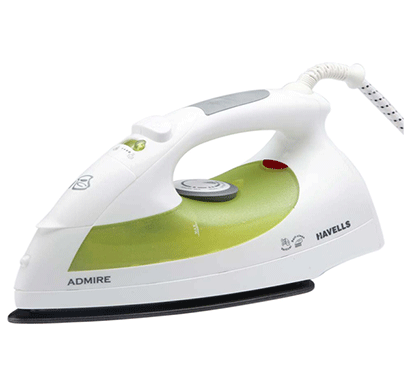 havells ghgsiaag132 1320w steam iron admire 320ml green