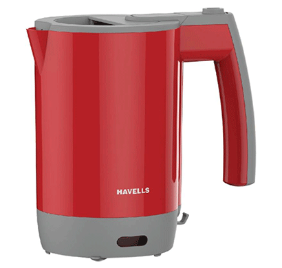 Havells Travel Lite Electric Kettle 0.5 Ltr (Red)