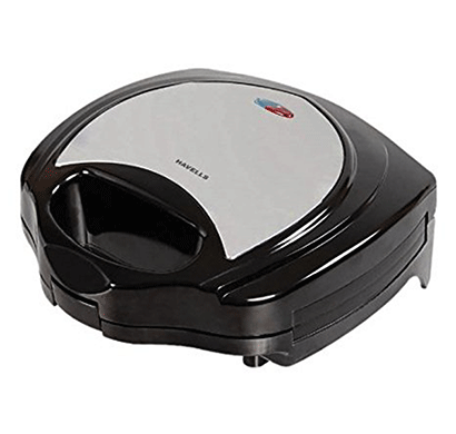 Havells Toastino 700-Watt Stainless Steel Grill Sandwich Maker (Black)