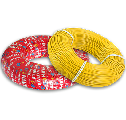 havells - heat-180 - yellow1x0, life line plus s3 hrfr cables 1.0 sqmm heat cable, 180 mtr, yellow, 1 year warranty