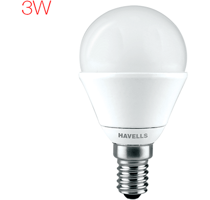 havells - lhlderoemd8x003, new adore led 3w candle e14, warm white, 1 year warranty