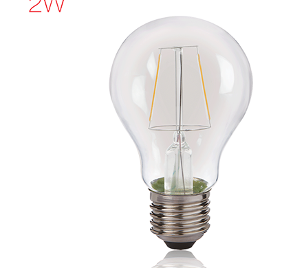 havells - lhlddehcyc8u002, brightfill led filament a60 - 2w a60 e27, warm white, 1 year warranty