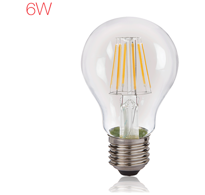 havells- lhlddehcyc8u006, brightfill led filament a60 - 6w a60 e27, warm white, 1 year warranty