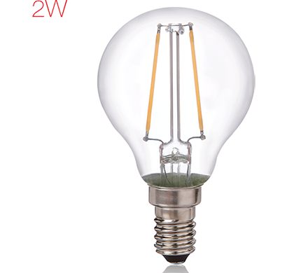 havells- lhlddzocyc8u002, brightfill led filament a45 - 2w a45 e14, warm white, 1 year warranty