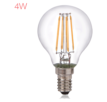 havells- lhlddzocyc8u004, brightfill led filament a45 - 4w a45 e14, warm white, 1 year warranty