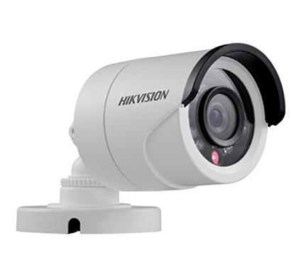 hikvision ds-2ce16c0t-ir ir bullet camera hd 720p cctv outdoor (white)