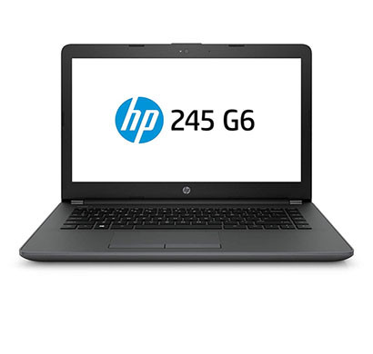 HP 245 G6 (6BF83PA) Business Notebook (AMD A6-9225 / 4GB RAM/ 1TB HDD/ DOS/ 14 Inch Screen), Black