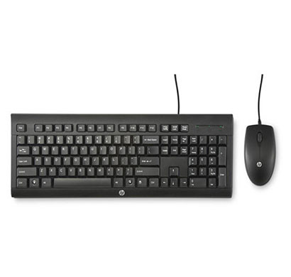 HP C2500 Wired Keyboard and Mouse Combo (J8F15AA)