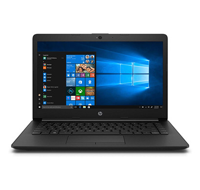 HP 14 CK0119TU 14-inch Laptop (Intel Core i3-7020U/7th Gen/4GB RAM /1TB HDD/Windows 10 Home SL/Integrated Graphics),Jet Black