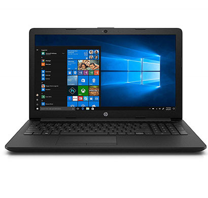 HP 15-DI1001TU (9PG00PA) Laptop (Intel Core I5-8265U/ 8th Gen/ 4GB RAM/ 1TB HDD/ 15.6 Inch Screen/ Windows 10 + MS Office H&S 2019/ Intel HD 620 Graphics) Black