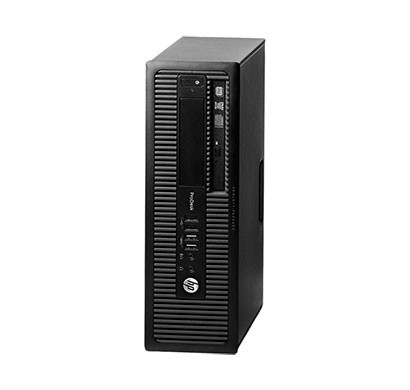 HP EliteDesk 800 G1 Desktop (Intel Core i5/ 4th Gen/ 4GB RAM/ 500GB HDD/ Windows 7/ 1 Year Warranty) Black