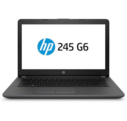 HP 245-G6 (6GA00PA) Laptop (AMD Dual-Core A9-9425/ 4GB RAM/ 1TB HDD/ DOS/ AMD Radeon R5 graphics/ 14 inch), Black