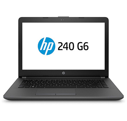 hp 240 g6 (5se65pa) 14-inch laptop (7th gen/intel core i3-7020u/4gb/1tb/dos/2.9 kg/integrated graphics/1 year warranty),grey