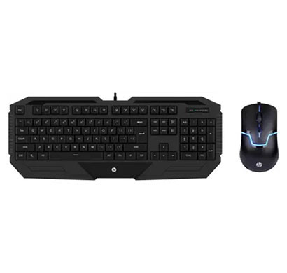 hp gk1000 (3dr57pa) wired gaming keyboard and mouse combo