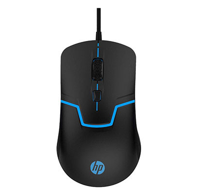 HP (M100) Wired Gaming Optical Mouse (Black)
