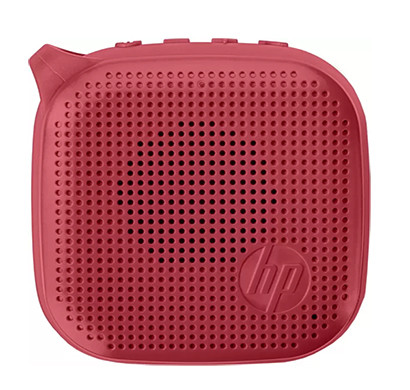 HP Mini 300 3 W Bluetooth Speaker / Red/ Mono Channel