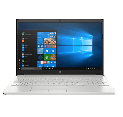 hp notebook 15-(da0388tu) laptop (7th gen intel core i3-7020u/ 8gb ram/ 1tb hdd/ m2 ssd slot/ 15.6 inch full hd screen/ windows 10 home/ office h&s 2016),silver