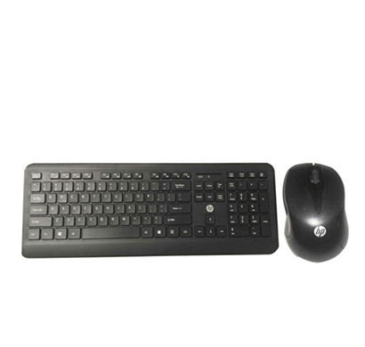 HP 3rq75pa#acj Wireless Keyboard Mouse Combo Black