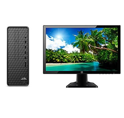 HP Slim (S01-pF0303il) Mini Tower Desktop PC ( Intel Core i3-9100/ 9th Gen/ 4GB DDR4-SDRAM/1000 GB HDD/20