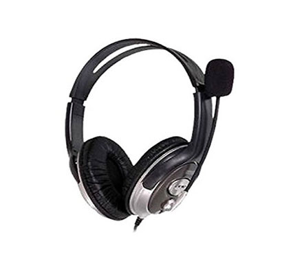 hp wired headphone with microphone (b4b09pa)