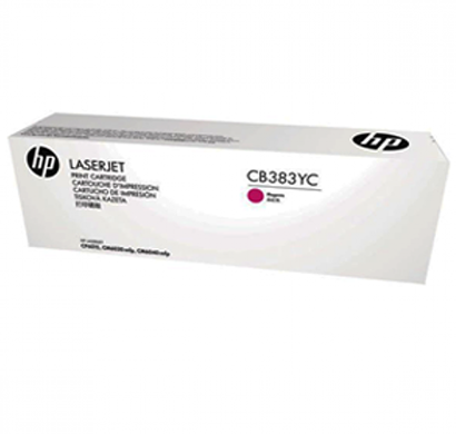 hp 824a magenta contract lj toner cartridge - cb383yc, 1 year warranty
