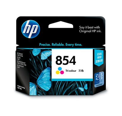 hp 854 tri-color ink cartridge c9361zz