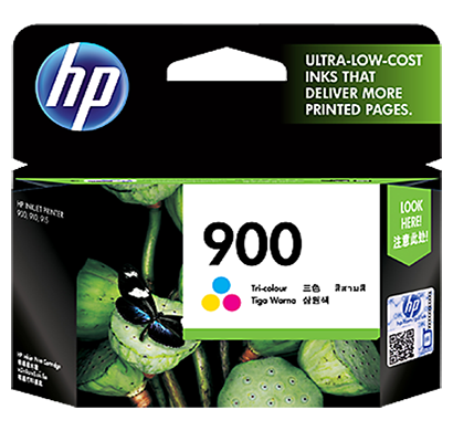 hp 900 tri-color ink cartridge - cb315a, 1 year warranty