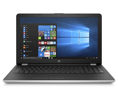 hp 15 - bs662tu 15.6-inch laptop (core i3-7th gen/ 4gb ram/ 1tb hdd/ windows 10/ integrated graphics), natural silver