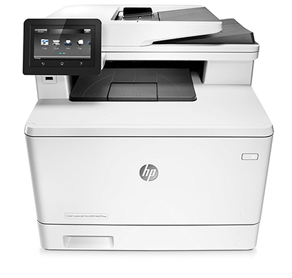 hp color laserjet pro mfp m377dw white