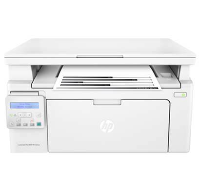 hp laserjet pro multifunctional printer m132nw- g3q62a, 1 year warranty