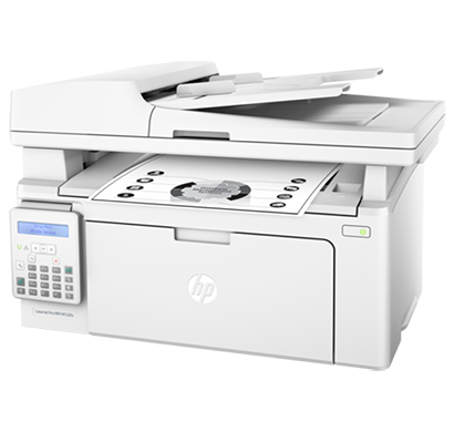 hp laserjet pro multifunctional printer m132fn- g3q63a, 1 year warranty