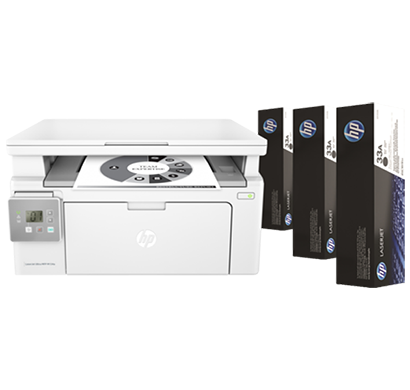 hp laserjet ultra multifunctional printer m134a - g3q66a, 1 year warranty