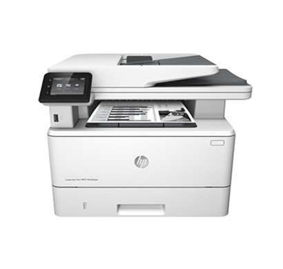 hp laserjet pro mfp m427dw wireless printer (white)