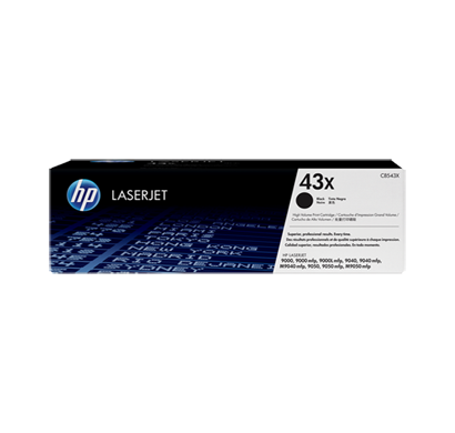 hp laser jet 9040 black print cartridge c8543x