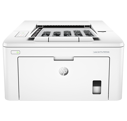 hp laser jet printer- m203d, 1 year warranty