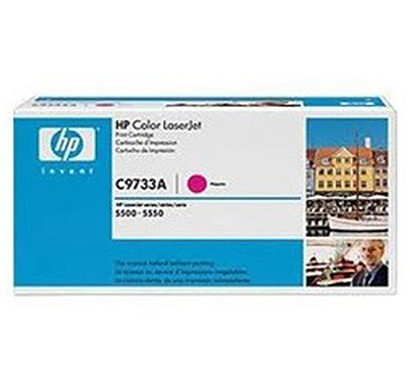 hp magenta contr l j toner cartridge - c9733ac, 1 year warranty
