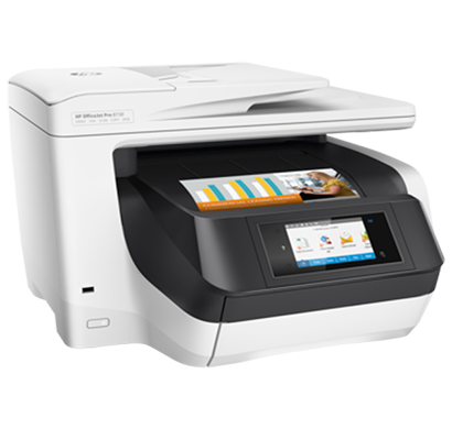 hp office jet pro 8730 all in one printer- d9l20a, 1 year warranty