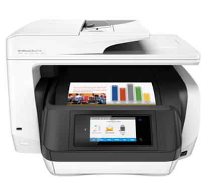 hp office jet pro 8720 all in one printer - d9l19a, 1 year warranty