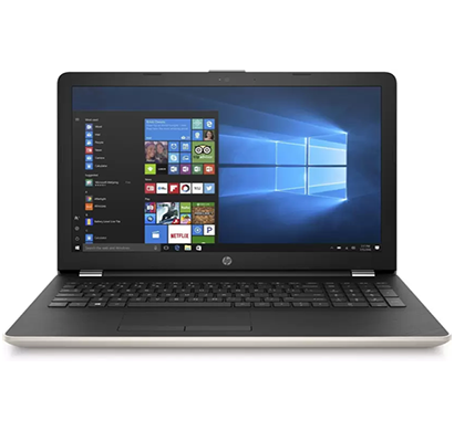 hp 15 series 15g-br019tx laptop, intel core i5 7th gen, 4 gb, 1 tb hdd, windows 10, 2 gb graphics, 15.6 inch, silk gold, 1 year warranty